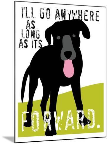 I'll Go Anywhere-Ginger Oliphant-Mounted Art Print