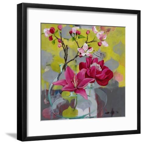 Apple Blossom Trio-Jennifer Rasmusson-Framed Art Print
