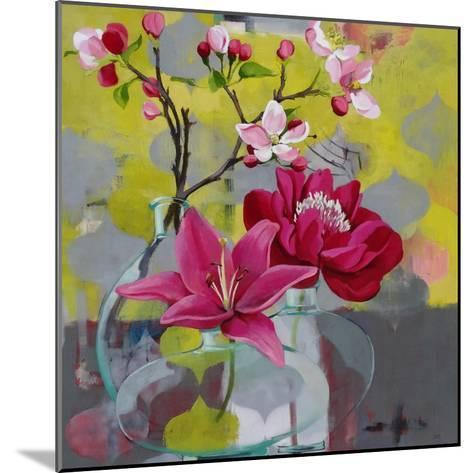 Apple Blossom Trio-Jennifer Rasmusson-Mounted Art Print