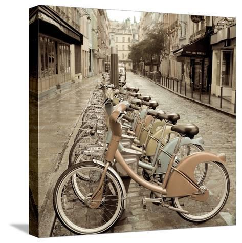 City Street Ride-Alan Blaustein-Stretched Canvas Print