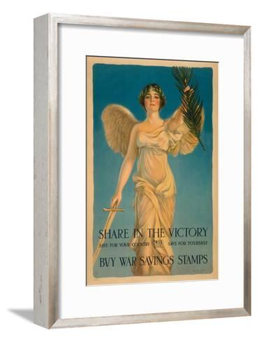 Share in the Victory-Haskell Coffin-Framed Art Print