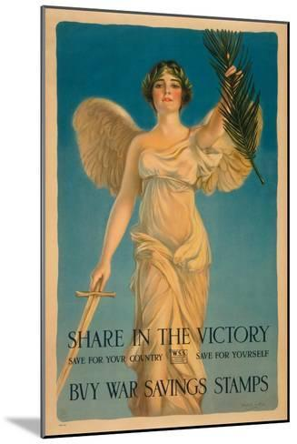 Share in the Victory-Haskell Coffin-Mounted Art Print