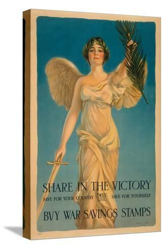 Share in the Victory-Haskell Coffin-Stretched Canvas Print
