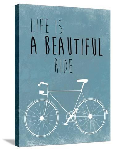 A Beautiful Ride-Jan Weiss-Stretched Canvas Print