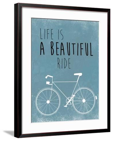 A Beautiful Ride-Jan Weiss-Framed Art Print