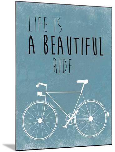 A Beautiful Ride-Jan Weiss-Mounted Art Print