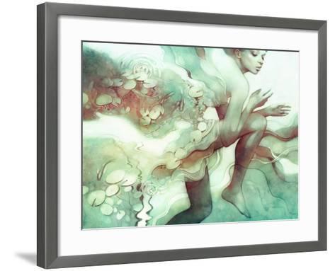 Flood-Anna Dittman-Framed Art Print