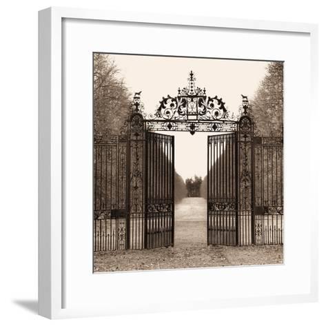 Hampton Gate-Alan Blaustein-Framed Art Print