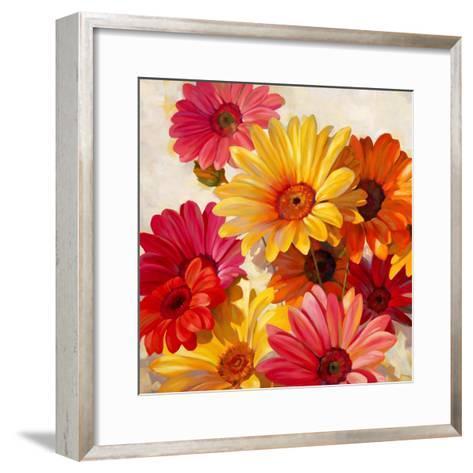 Daisies for Spring-Emma Styles-Framed Art Print