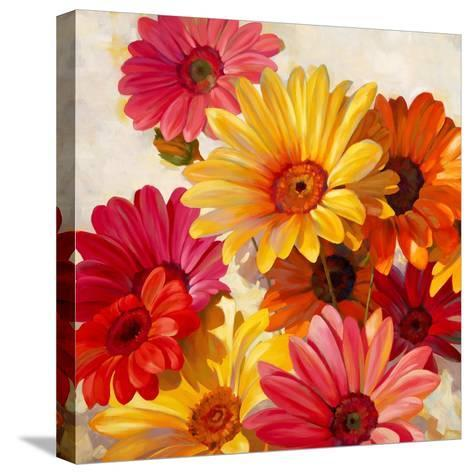 Daisies for Spring-Emma Styles-Stretched Canvas Print