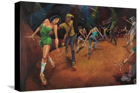 Bounce, Rock, Skate!-David Garibaldi-Stretched Canvas Print