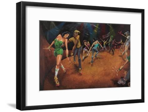 Bounce, Rock, Skate!-David Garibaldi-Framed Art Print