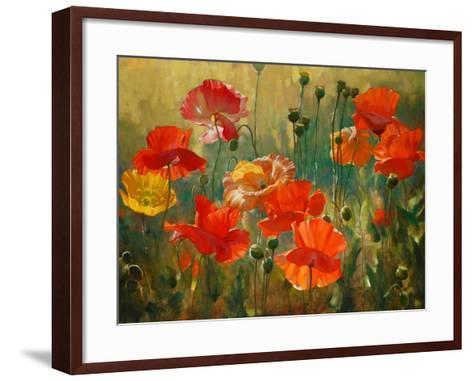 Poppy Fields-Emma Styles-Framed Art Print