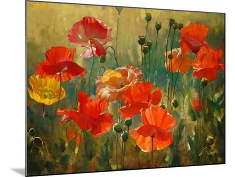 Poppy Fields-Emma Styles-Mounted Art Print