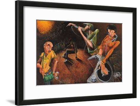 The Get Down-David Garibaldi-Framed Art Print