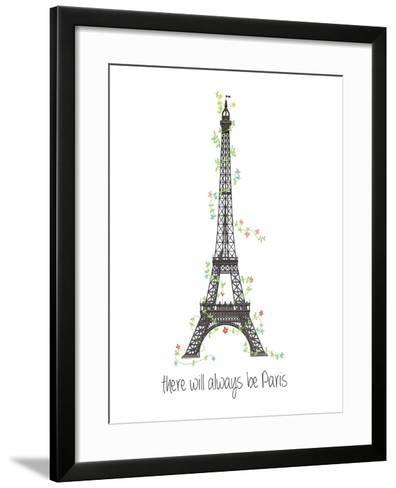 There Will Always Be Paris-Jan Weiss-Framed Art Print