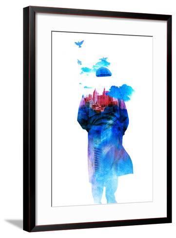 Get Away from Town-Robert Farkas-Framed Art Print