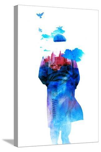 Get Away from Town-Robert Farkas-Stretched Canvas Print