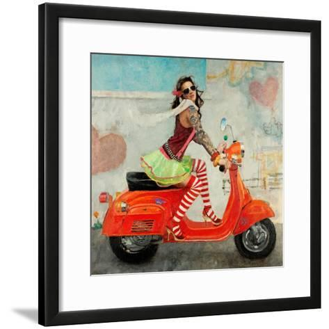 This Is How I Roll-Michael Fitzpatrick-Framed Art Print