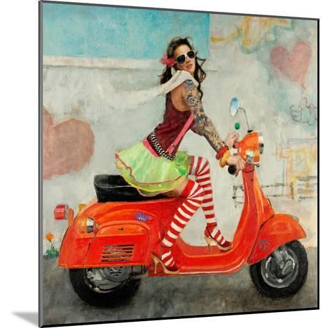 This Is How I Roll-Michael Fitzpatrick-Mounted Art Print