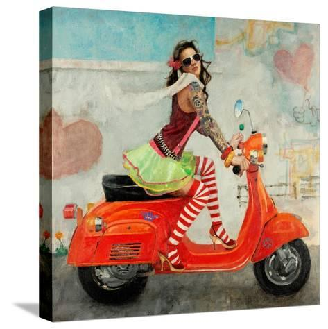 This Is How I Roll-Michael Fitzpatrick-Stretched Canvas Print