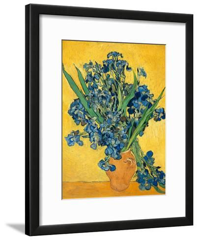 Irises, 1890-Vincent van Gogh-Framed Art Print