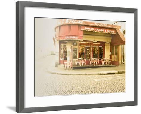 Paris Brasserie-Keri Bevan-Framed Art Print