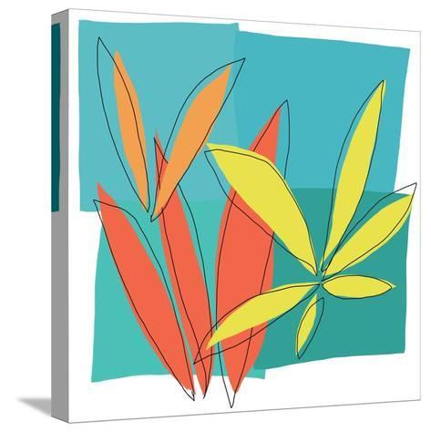 Grasses I-Jan Weiss-Stretched Canvas Print
