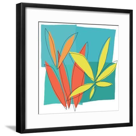 Grasses I-Jan Weiss-Framed Art Print