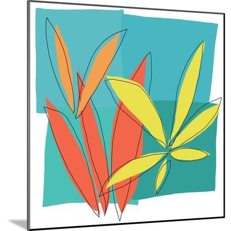 Grasses I-Jan Weiss-Mounted Art Print
