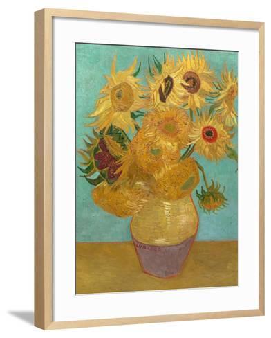 Sunflowers, 1889-Vincent van Gogh-Framed Art Print