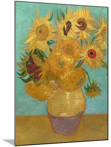 Sunflowers, 1889-Vincent van Gogh-Mounted Art Print