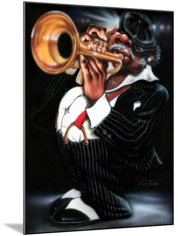 Jazzman Papa Joe-Leonard Jones-Mounted Art Print