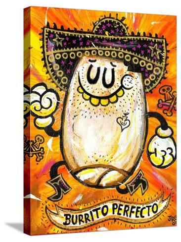 Burrito Perfecto-Jorge R^ Gutierrez-Stretched Canvas Print