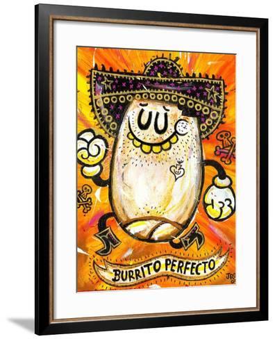 Burrito Perfecto-Jorge R^ Gutierrez-Framed Art Print