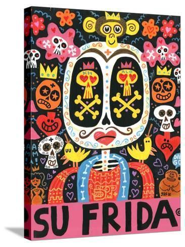 Dolor Feliz Gracias-Jorge R^ Gutierrez-Stretched Canvas Print