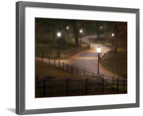 Twilight Stroll-Natalie Mikaels-Framed Art Print