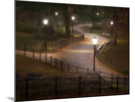 Twilight Stroll-Natalie Mikaels-Mounted Photographic Print