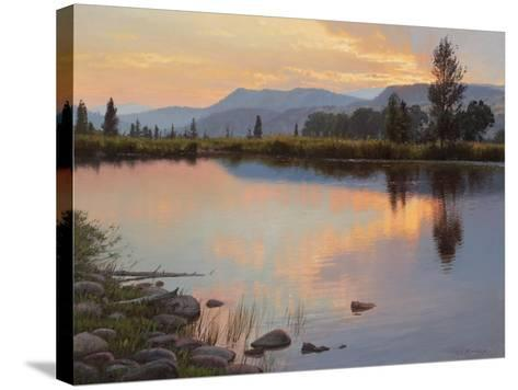 Tranquil Evening-Jay Moore-Stretched Canvas Print