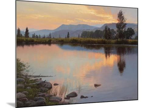 Tranquil Evening-Jay Moore-Mounted Art Print