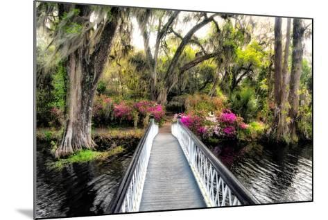The Garden Bridge-Daniel Burt-Mounted Photographic Print
