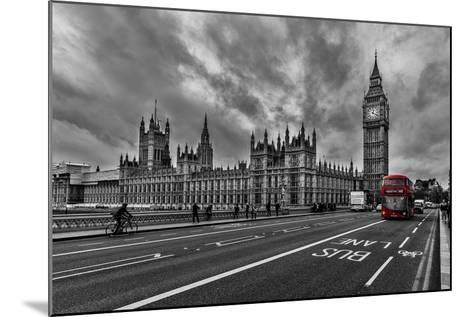 Double Decker, London-Vladimir Kostka-Mounted Photographic Print