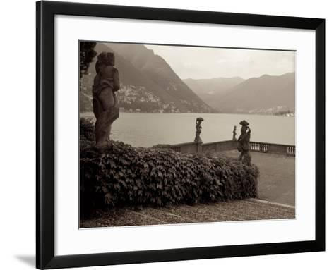 Banc de Jardin #36-Alan Blaustein-Framed Art Print
