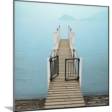 Morning Harbor Launch-Alan Blaustein-Mounted Photographic Print