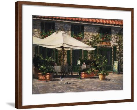 Ristorante Il Pozzo-Art Fronckowiak-Framed Art Print