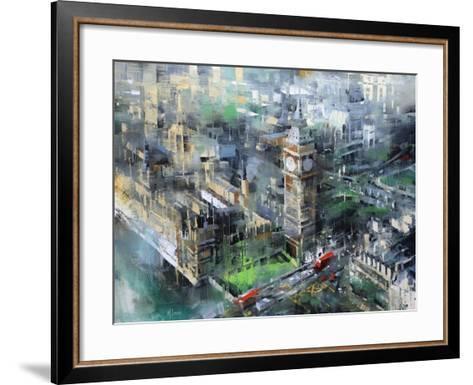 London Green - Big Ben-Mark Lague-Framed Art Print