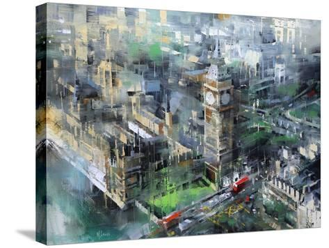 London Green - Big Ben-Mark Lague-Stretched Canvas Print