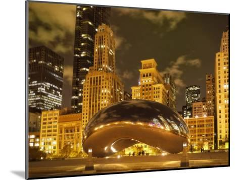Bean at Night-Jessica Levant-Mounted Photographic Print