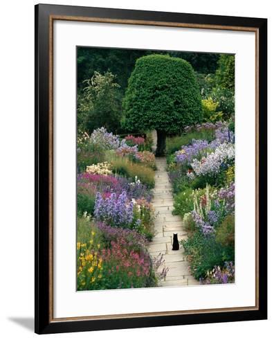 The Garden Cat-Greg Gawlowski-Framed Art Print