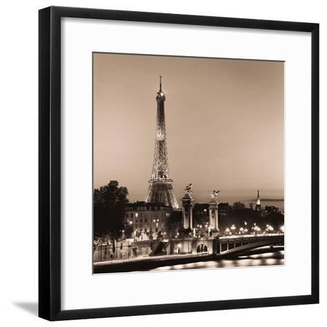 Pont Alexandre III-Alan Blaustein-Framed Art Print
